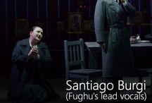 Santiago Burgi (Vocals) / by Fughu Progressive Metal Band