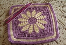 Crochet... Squares, Circles, Hexagons,Flowers, ect... / by Lorri Reams