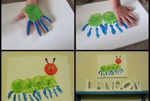 Kid's handprint crafts / Every child is unique and special and each one has a unique and special hand print. There are so many different ways to use hand and finger prints for crafts that are great for kids!  / by Dayton Children's Hospital