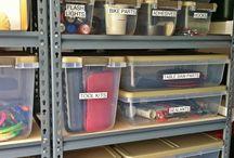 The Organized Garage / by Michelle Campeau