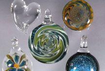 Borosilicate Glass Pendants / by GlassPeace