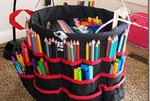 Organization Ideas / by Laurie Tindall