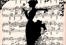 Music Sheets / by Donna Artioli