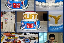 Scout Cakes / Cub Scout, Eagle Scout, court of honor, and Eagle award cake ideas. / by Laurie Turk TipJunkie.com