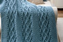 Knit afghans / by Helen Mahan