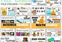 Folder games / by Chrissie Griggs Gifford