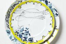 Plates and things. / by Tanya Leht