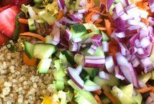 Summer Salads / by Kathy Getty-Desveaux