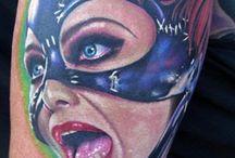 Top 15 Superhero Tattoos / by Tattoos