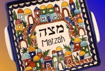 Jerusalem Passover Seder Table Sets / Beautiful Seder Sets have just arrived from Israel.  This collection would look beautiful on a Seder table. / by Traditions Jewish Gifts