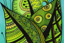 Patterns and Color / Inspiration for doodling and drawing, and painting! / by Sylvia Susan Smith