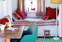 house decor part deux / Fun, colorful, inspiring & laid back / by Honey