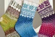 Knitted socks / by Gunnhild Fagervik