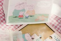 Peppa Pig Party ideas / by Amy Leon