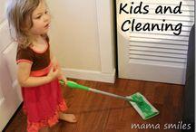 chores for kids / by Cassie Osborne (3Dinosaurs.com)