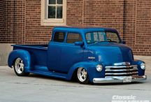 Classic Pick-Up Trucks / Retro pick-up trucks - mostly American / by Retro Heaven