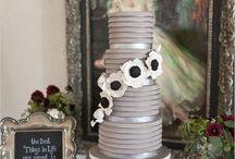 Wedding cake table / by Sandy Maclean