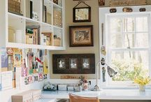 Command Center / The Home Command Center - Spaces, Tips, Tricks to keep the family organized and motivated / by Chellie Hailes