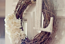 wreaths / by Kim Adams Lawson