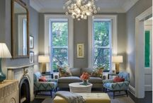 Living room ideas / by Amanda Berger Rosen