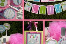 Sleepover Fun Party Inspiration / by Jennifer Perez ~ Petit Delights