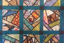 Crazy Quilting - Design / Layout ideas / by Taarna T