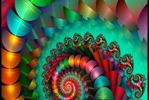 Spiral art / by Debra Alvarez