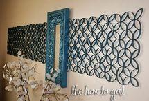 Wall Art We Wanna Make! / by ILoveto Create