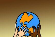 Plantillas y fondos del Mundo / by Plantillas PPT
