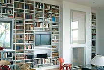 Books and Shelving  / by Katherine Endres-Cox