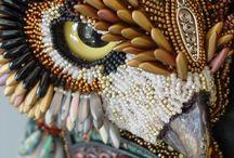 Beadwork mosaic / by Sandee Jordan-Albers
