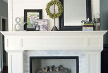 Mantle Styling / by Jessica DeMaio