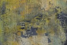 Encaustic / The beauty of wax. Once you go wax, you don't go back;).lol / by Crystal Hover
