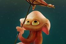 Illustrated/Animated Characters / by Zoe Gianakouros