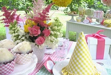 Gingham and polka dots / by Jennie Tracy