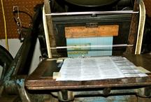 Letterpress Adventures  / by Dani Bedford