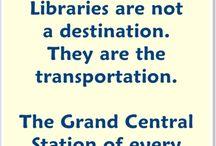 Education - Library / by Amanda Kramer