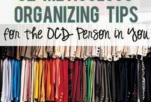 Organizing / by Mrs. Gloves