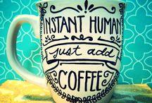Coffee mugs / by Brittany Barrett