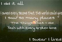 Listen / Songs, lyrics, sounds I like! / by Jennefer Hessels