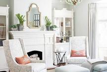 Aqua & Linen Guest Bedroom Ideas / by Tawny Johnson Plate