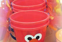 Elmo party  / by Irene Czerniuk