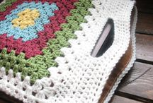 Granny square inspiration... / Granny square projects!  / by maggie button