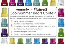 Cool Summer Treats!!! / by Michelle Blanchette