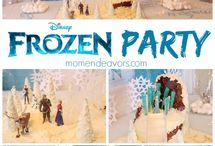 Parties - Frozen/Sophia the First / Frozen (Elsa & Anna) & Sophia the First  / by Angi Myers-Broom
