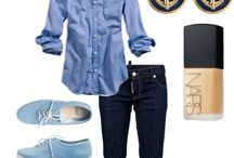 Back To School Closet / by Cassie Hall