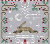 cross stitch / by Christi Banning-Woods