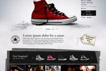 ⊶ Web design ⊶ / by Manuel Velin
