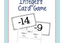 Teaching Math- Integers / by Michelle Ownby White