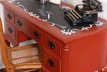 desk / by Bernadette: That Way By Design